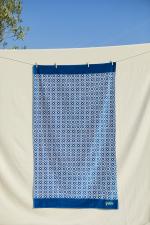 Azulejos beach towel