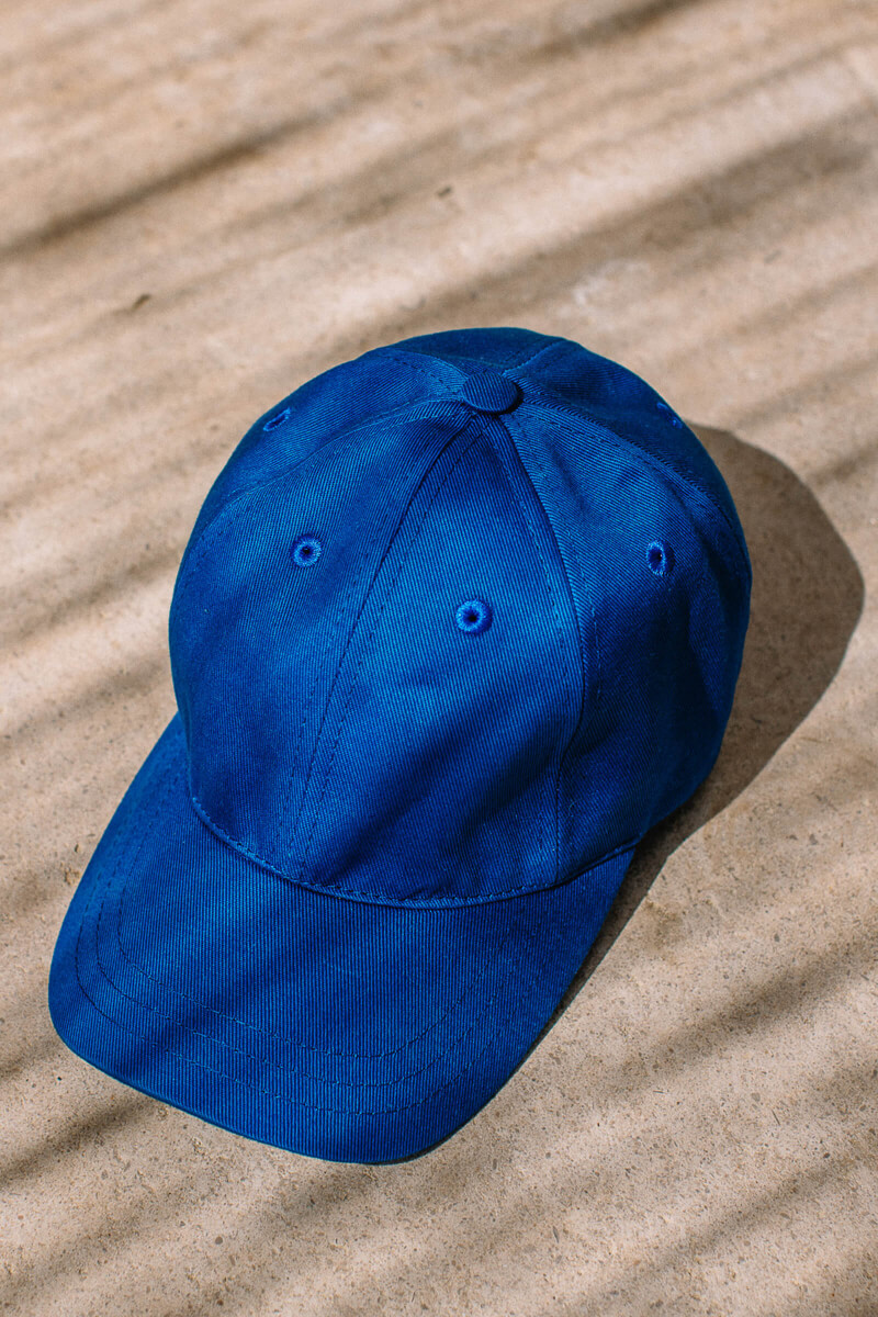 Blue cap adult and kids