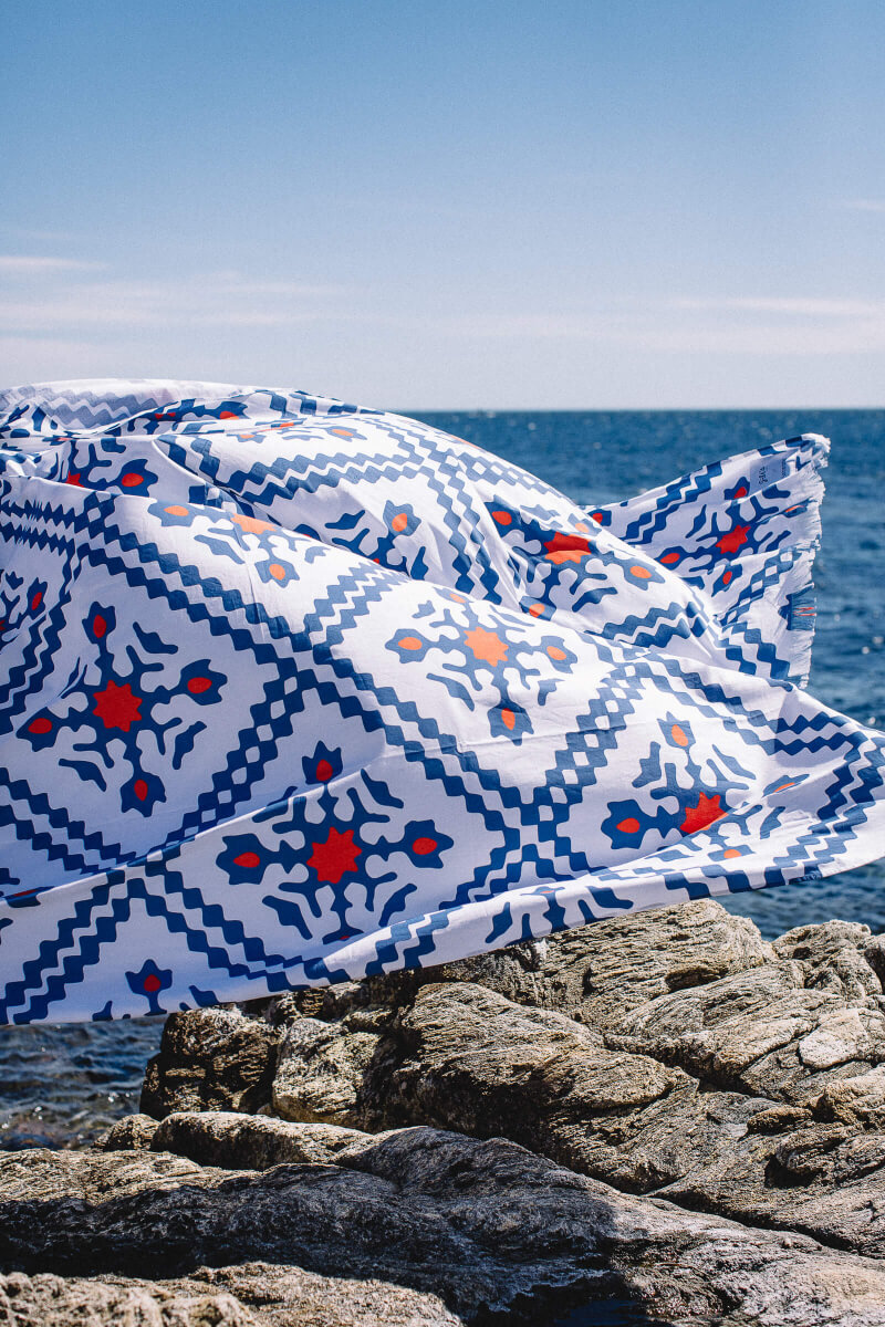 Family beach sheet Simrane x GILI'S